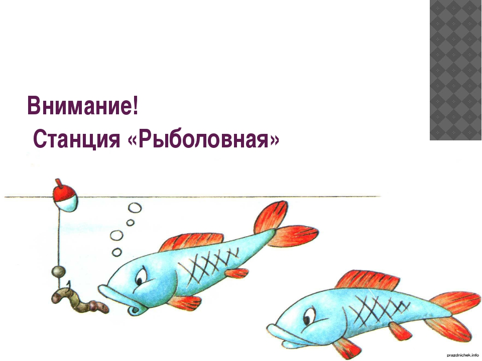 Внимание! Станция «Рыболовная»