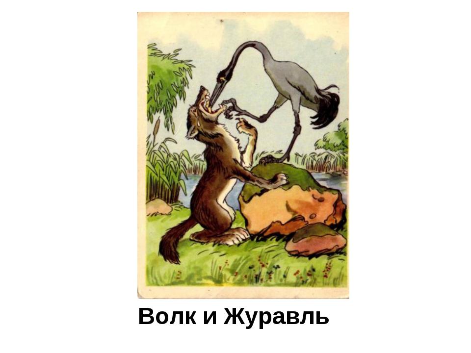 Волк и Журавль