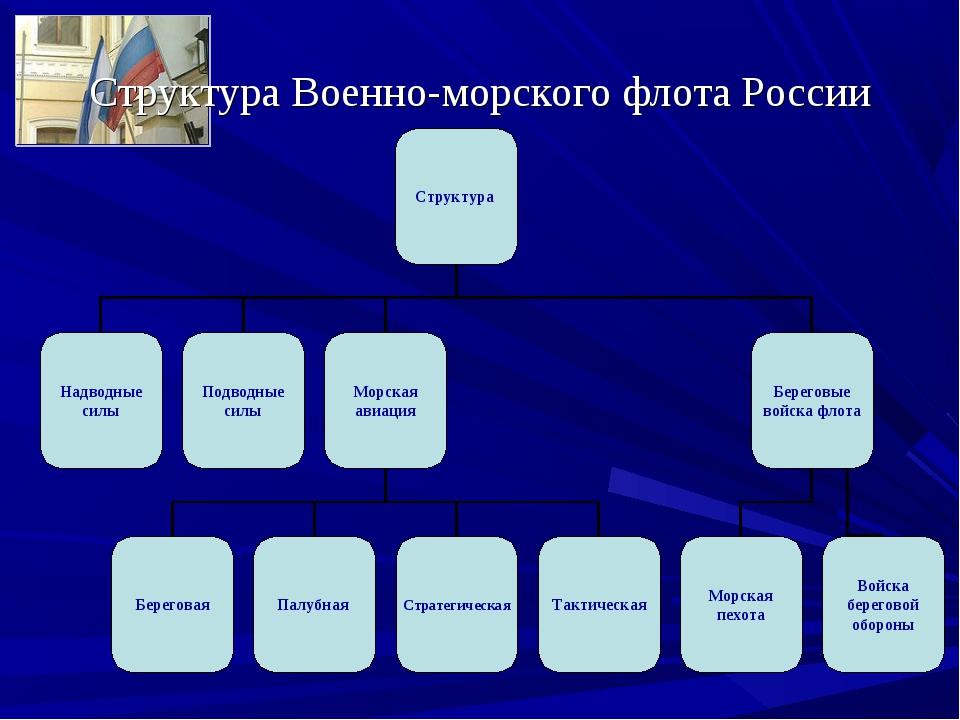 Структура Военно-морского флота России