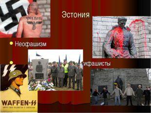 Эстония Неофашизм Антифашисты