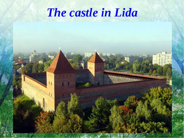 The castle in Lida