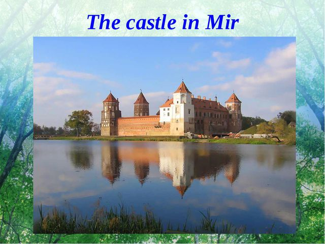 The castle in Mir