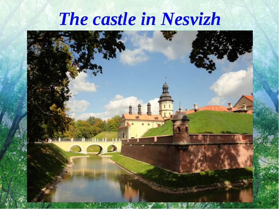 The castle in Nesvizh