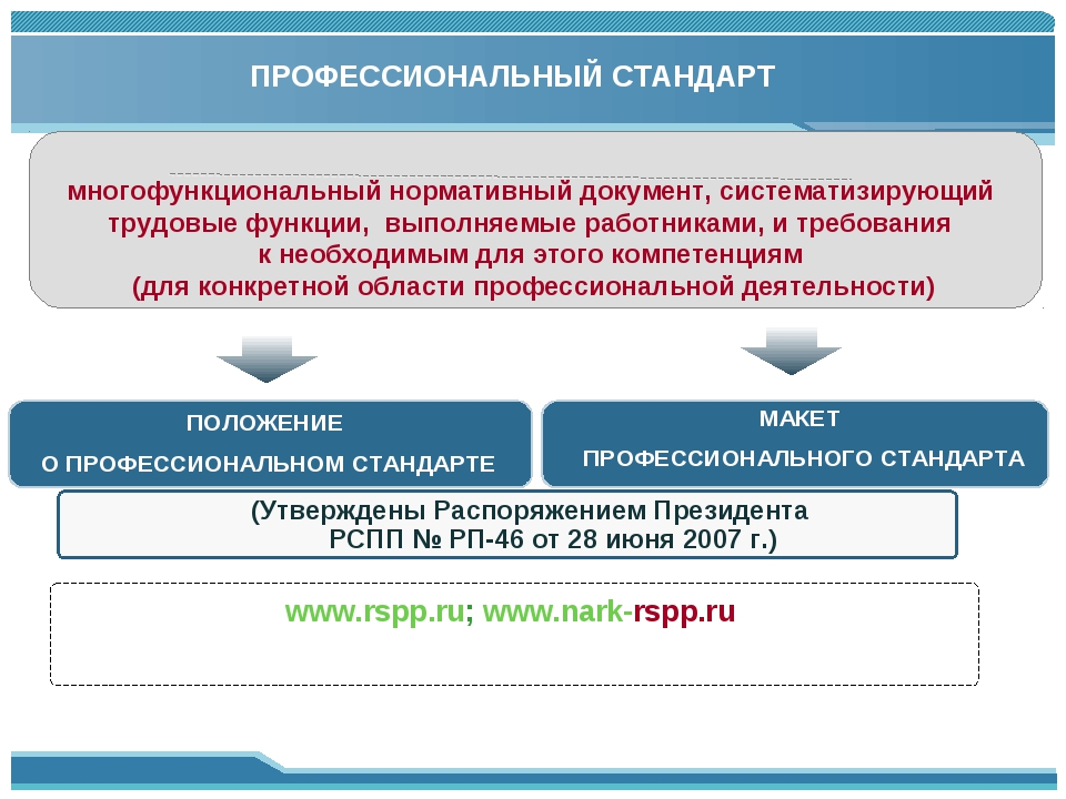 ПРОФЕССИОНАЛЬНЫЙ СТАНДАРТ многофункциональный нормативный документ, системати...
