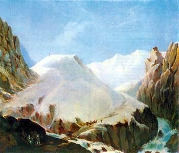 Вид горы Крестовой. Лермонтов