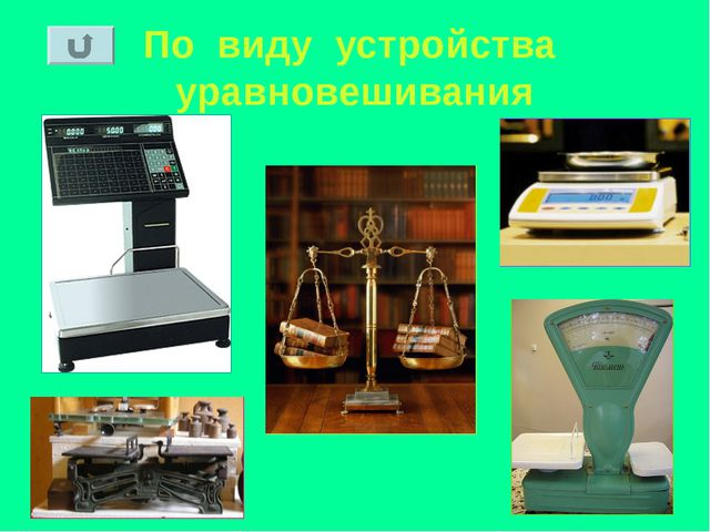 По виду устройства уравновешивания