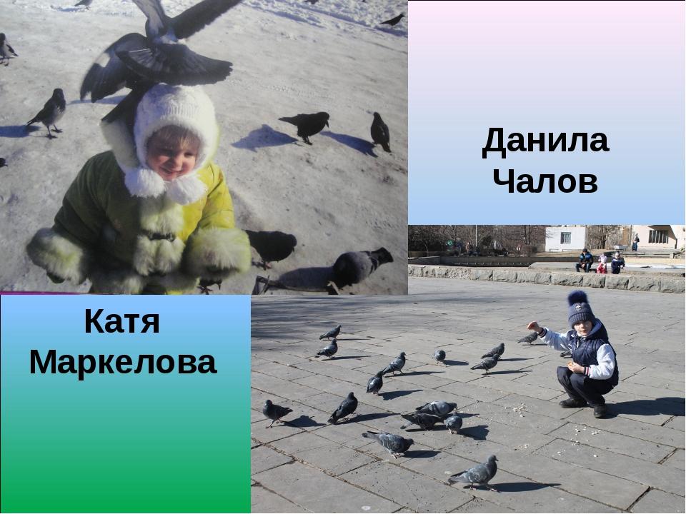 Катя Маркелова Данила Чалов