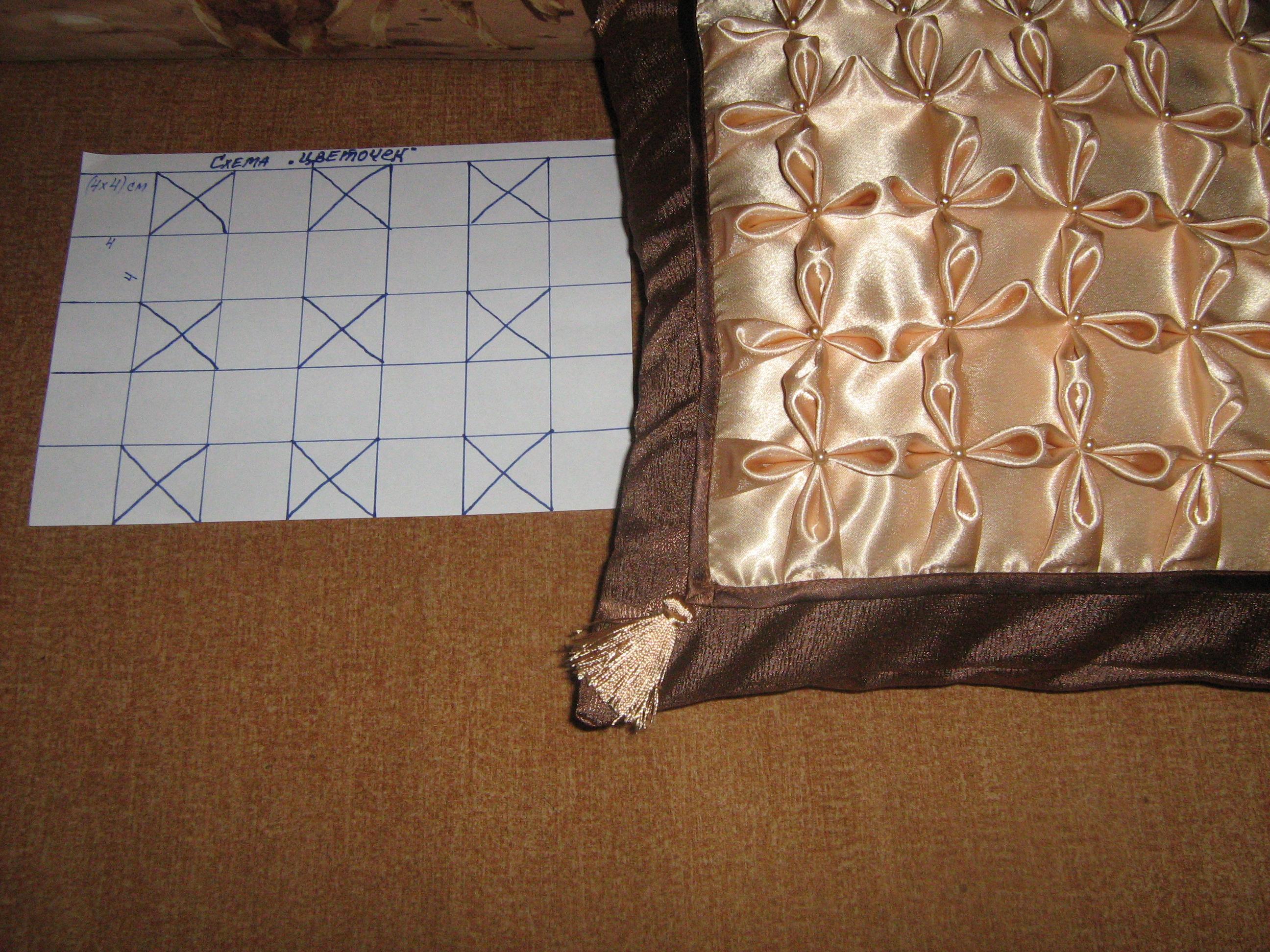 Мастер класс подушки своими руками буфы