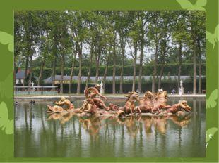 Как ответное эхо «фонтану Латоны», знаменитый бассейн с фигурой Аполлона, вые