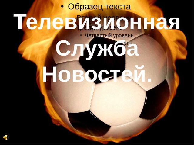 Телевизионная Служба Новостей.