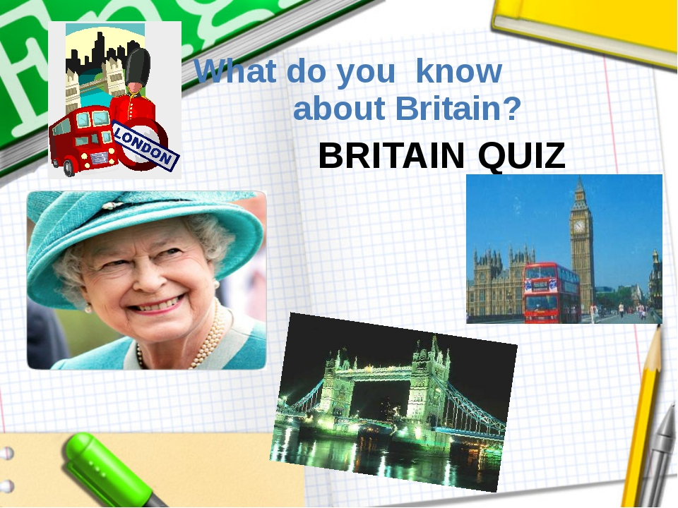 What do you know about Britain? BRITAIN QUIZ