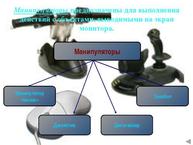 Манипулятор «мышь» В настоящее время имеется несколько разновидностей: Оптико...