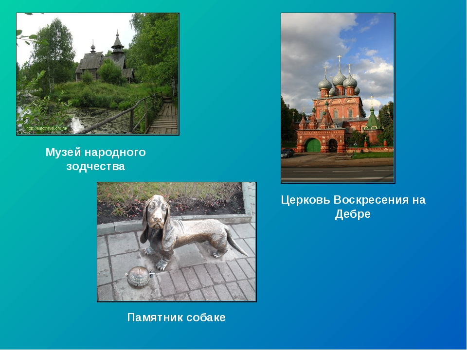 Музей народного зодчества Церковь Воскресения на Дебре Памятник собаке
