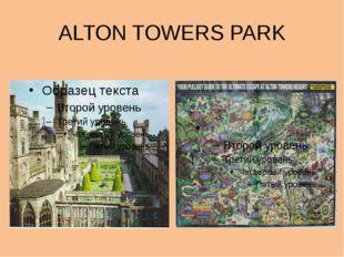 ALTON TOWERS PARK