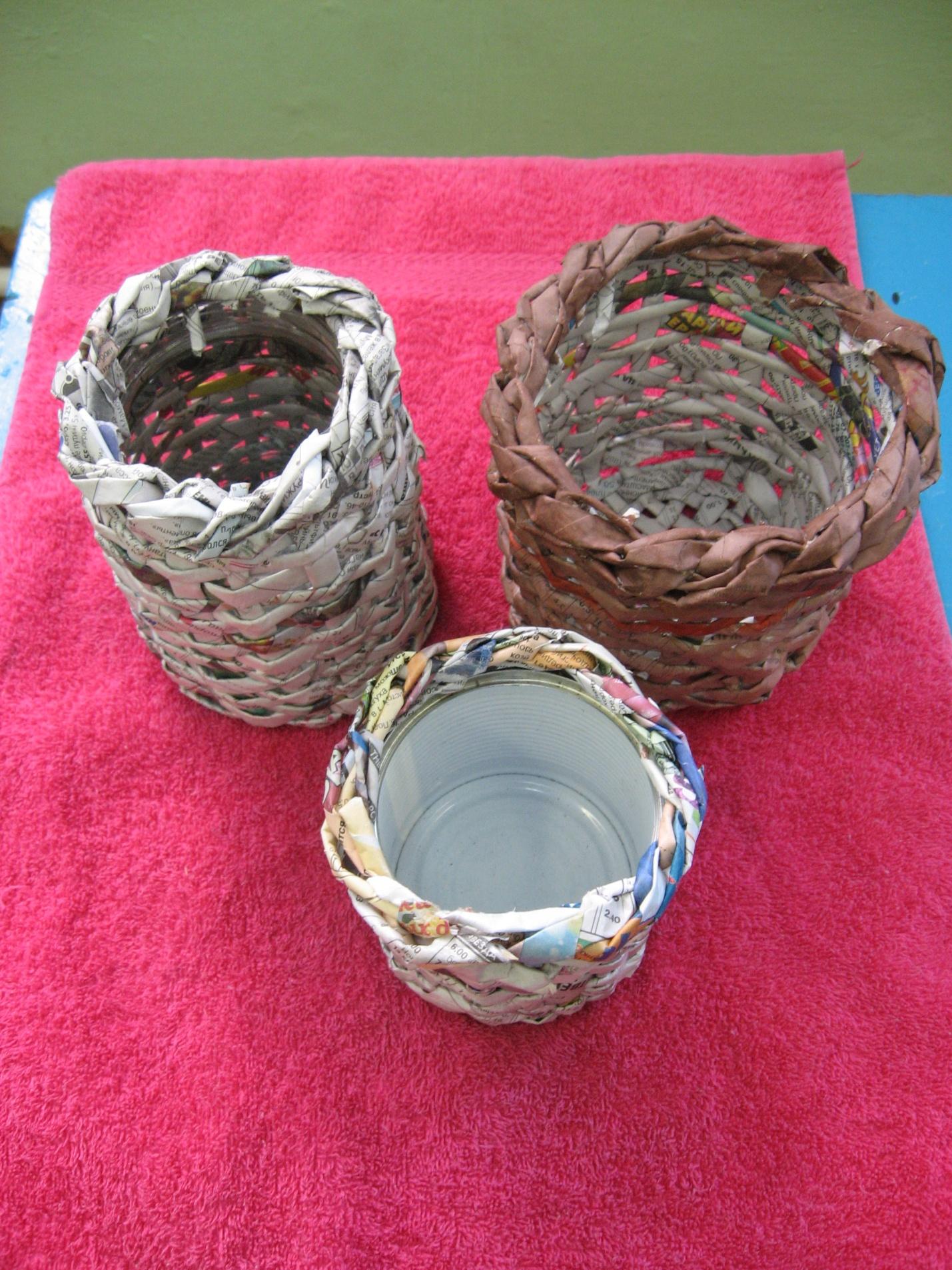 Плетение из газетных трубочек для начинающих - пошаговый мастер-класс 80
