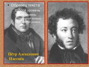 Пётр Алексеевич Плетнёв