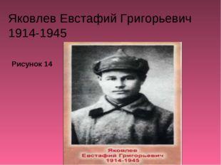 Яковлев Евстафий Григорьевич 1914-1945 Рисунок 14