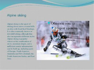 The Nordic combined is a winter sport in which athletes compete in both cros