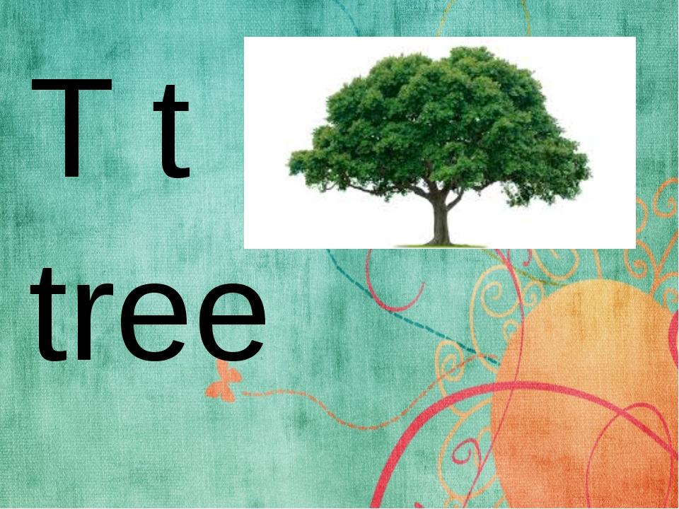 T t tree