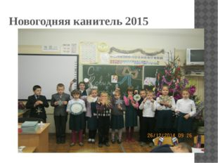 Новогодняя канитель 2015