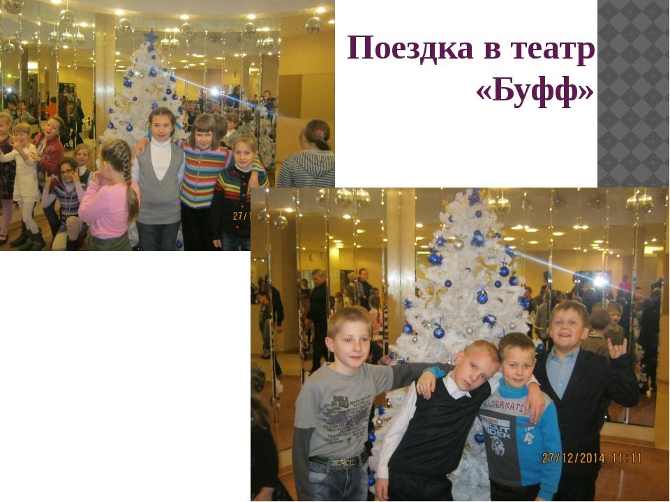 Поездка в театр «Буфф»