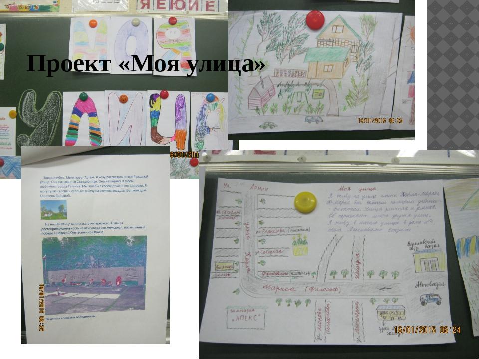 Проект «Моя улица»