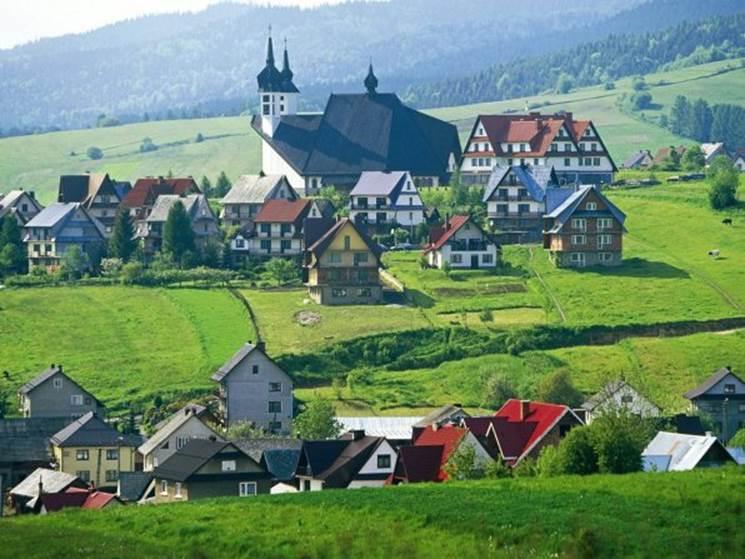 Деревня в Дании
