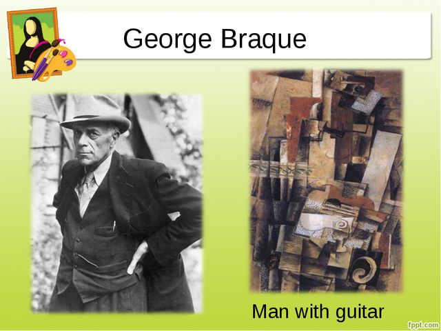 George Braque Man with guitar