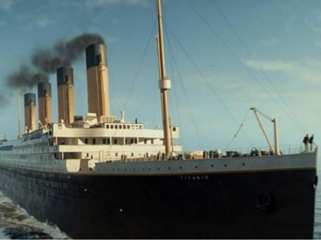 Титаник 9. Британский пароход компании «Уайт Стар Лайн» 1912 года, крупнейший...
