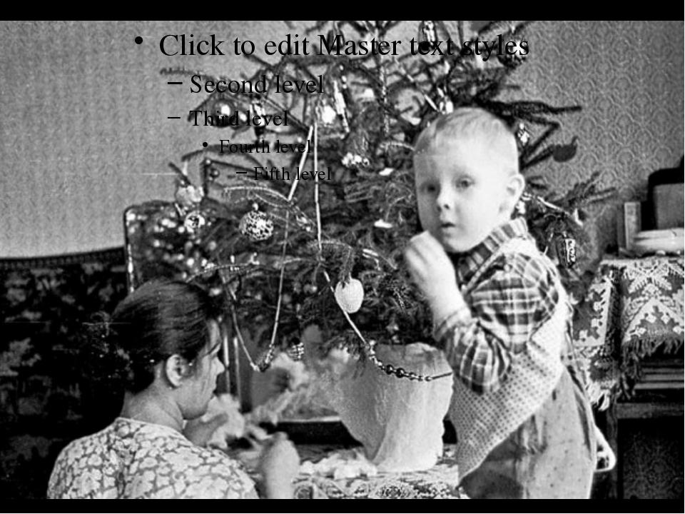 Фотография наряжая елку к 1964 новому году! из раздела жанр .