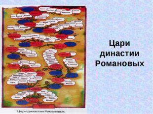 Цари династии Романовых