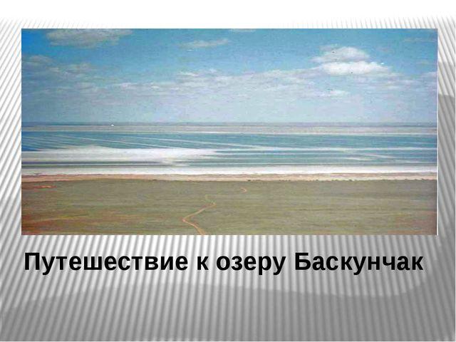 Путешествие к озеру Баскунчак