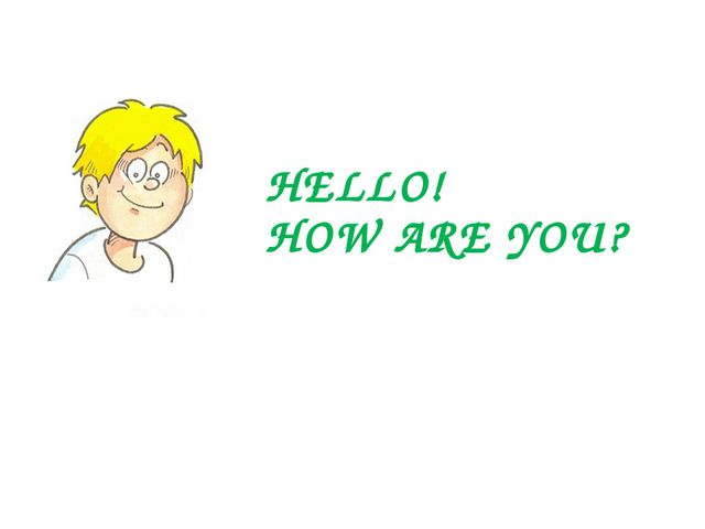 HELLO! HOW ARE YOU? My name is Sam. I am a student. I want to tell you about...