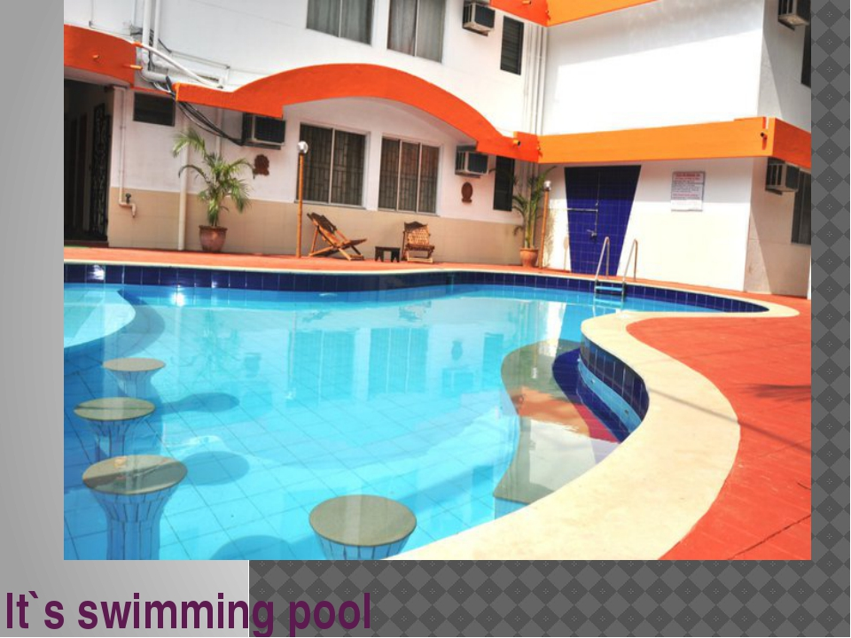It`s swimming pool