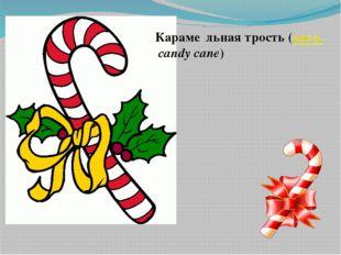 Караме́льная трость(англ.candy cane)