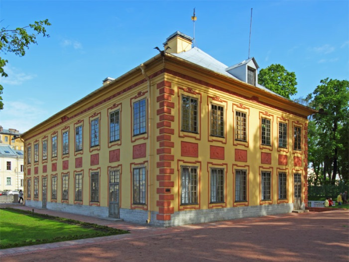 Летний дворец Петра I : Дворцы и дома : Путеводитель по Санкт-Петербургу