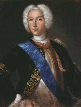 Peter II of Russia by Vedekind (1730s, Samara).jpg
