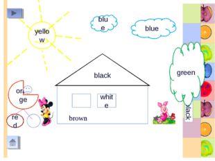 b black white yellow blue blue black green orange red brown