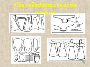 Последовательность шитья