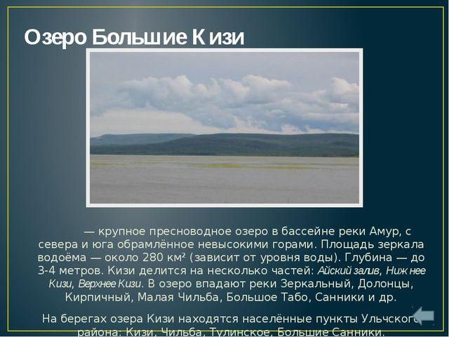 Озеро Болонь Болонь находится в пойме реки Амур. Его площадь составляет 338 к...