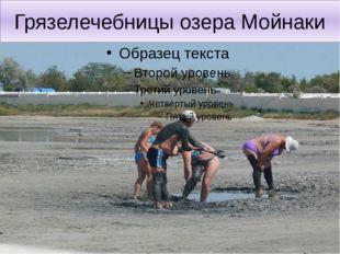 Грязелечебницы озера Мойнаки