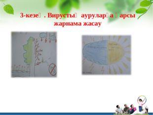 3-кезең. Вирустық ауруларға қарсы жарнама жасау