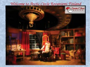 Welcome to Arctic Circle Rovaniemi Finland