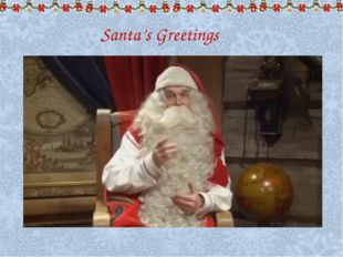 Santa's Greetings