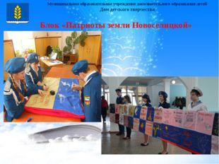 Муниципальное образовательное учреждение дополнительного образования детей Д