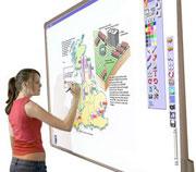 интерактивная электронная доска для проведения обучения ACTIVboard