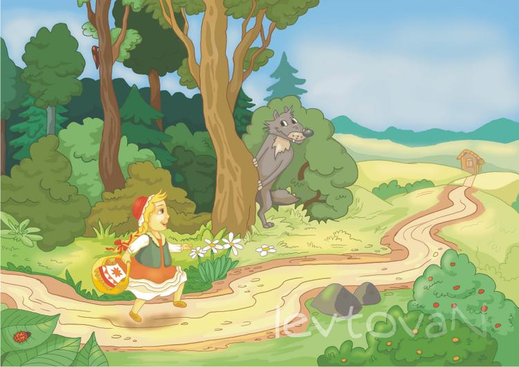 Иллюстрации к сказке красная шапочка - Только новые учебники