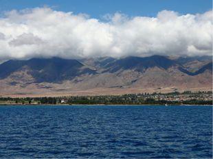 Высокогорное озеро Иссык-Куль в переводе с киргизского «горячее озеро», так к