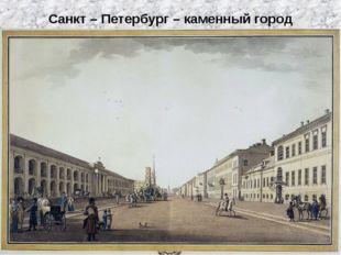 Михайлов Владимир Новаков Даниил Санкт – Петербург – каменный город
