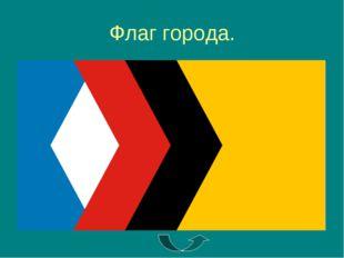 Флаг города.